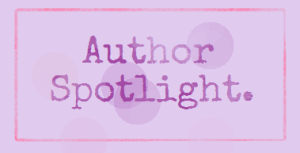 author spotlight banner