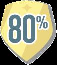 80percent
