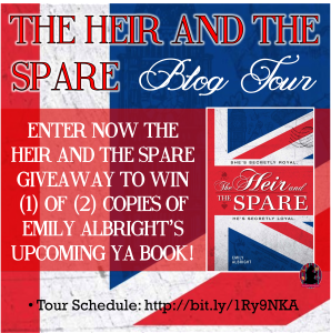 Heir and the Spare giveaway
