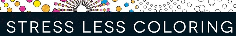 stress less coloring banner