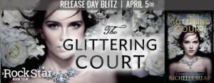 The glittering court banner