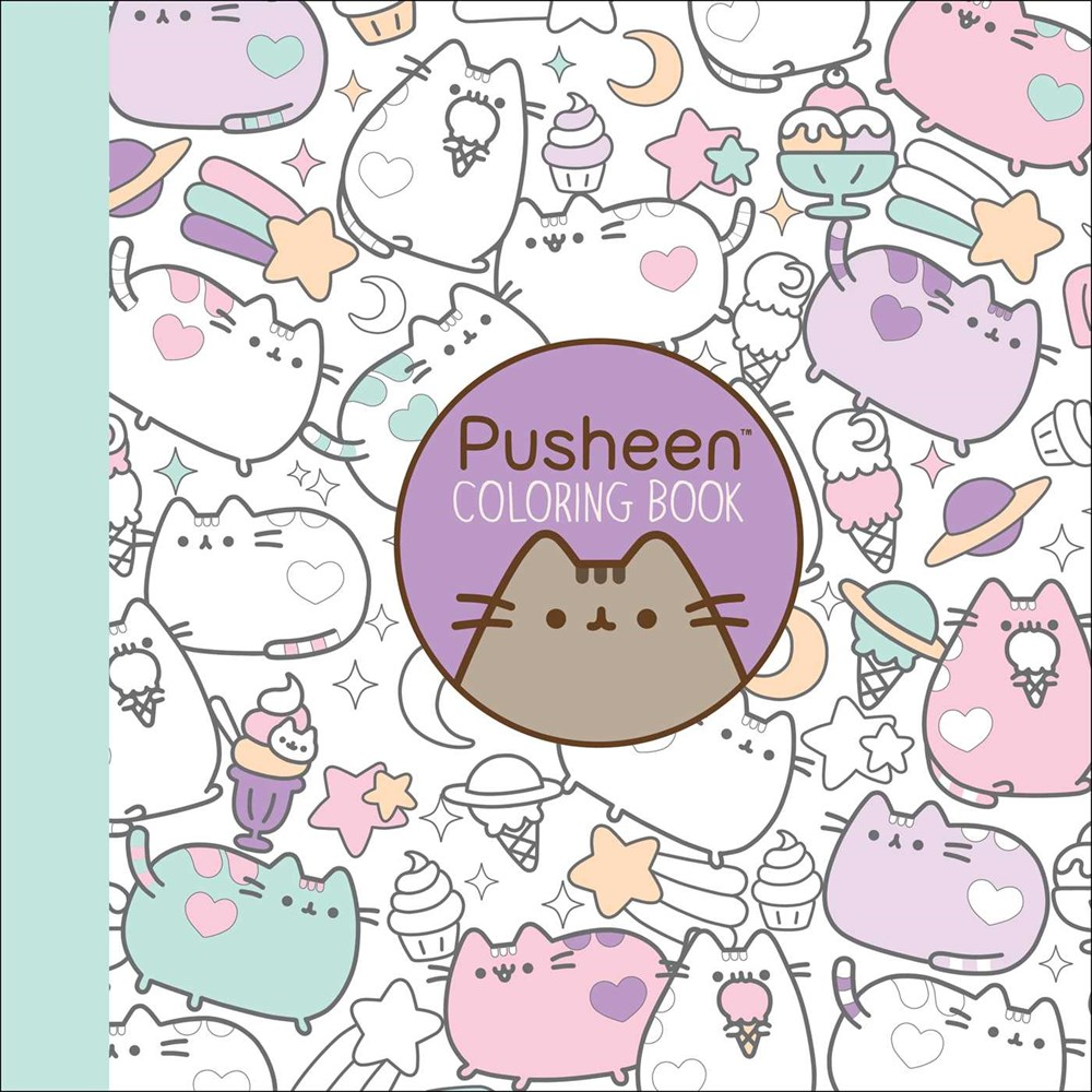 Pusheen Coloring Book by Claire Belton | Here\'s to Happy Endings